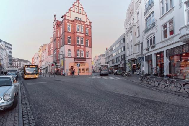Die Praxis im Zentrum Lübecks.